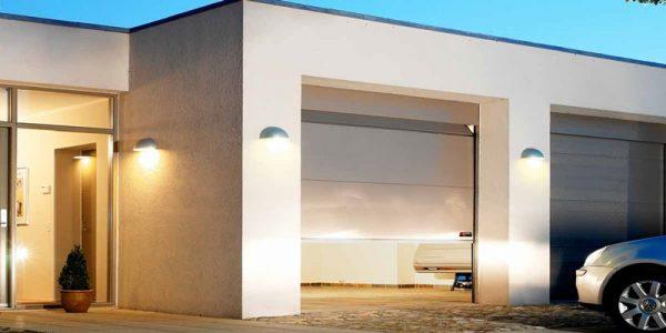sorte nassau classic garageporte i villa