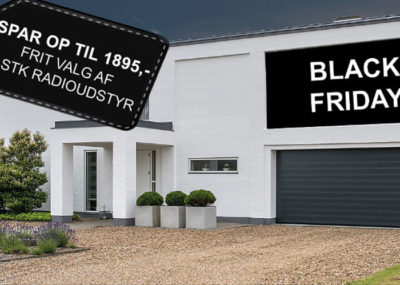 black friday garageport tilbud