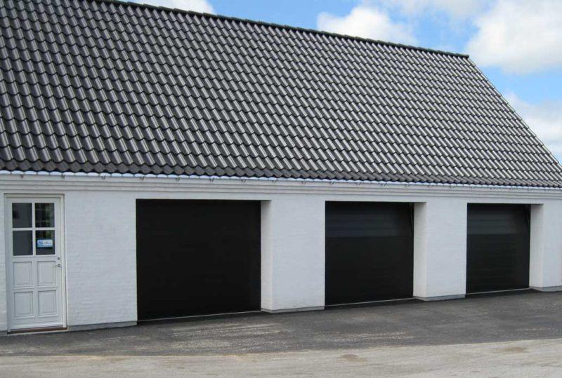 3 Sorte NASSAU Classic Garageporte
