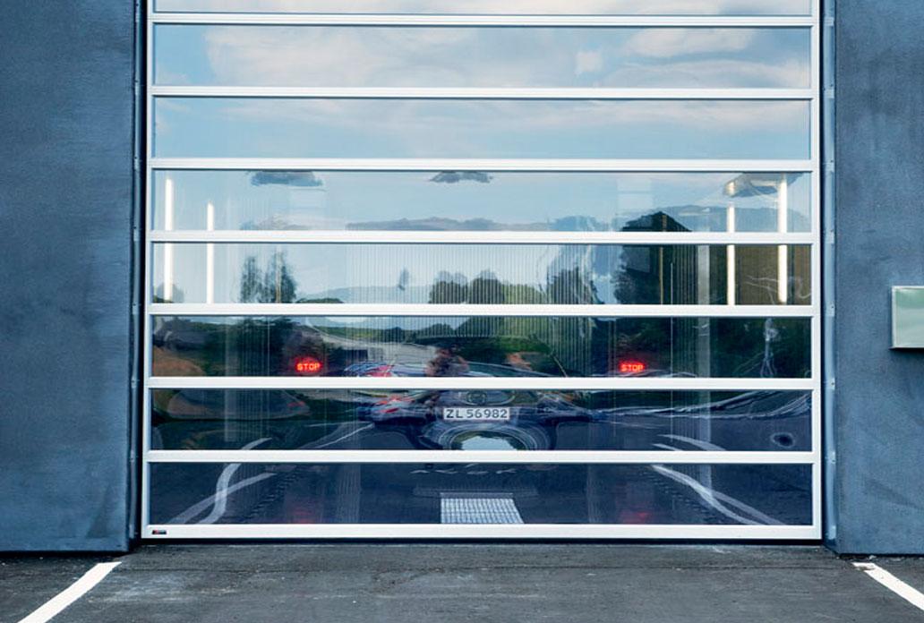 ledhejseport i panorama glas