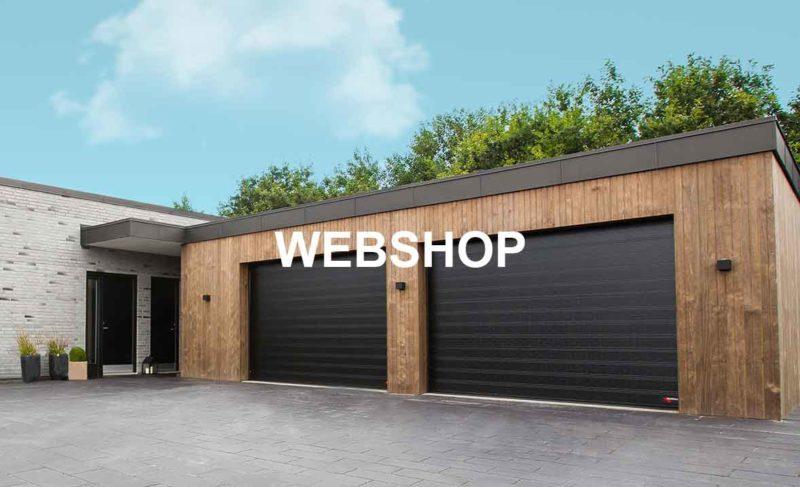 bestil garagport på webshop