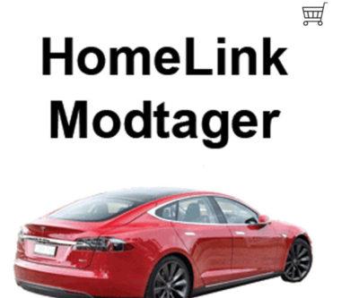 NASSAU Garageport HomeLink Modtager med kurv