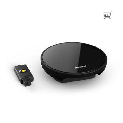 Maveo Start Box tilslutter Garageporte til Smartphone med kurv