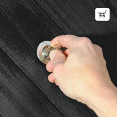 frakoblingsanordning til garageport med kurv