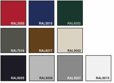 NASSAU Classic garageport farver