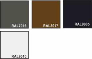 nassau woodgrain garageport farve oversigt