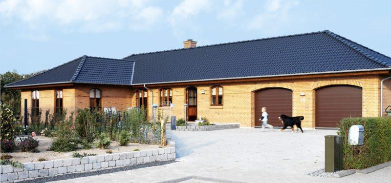 nassau woodgrain garageporte