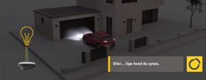 garageport app - styre garageport fra telefon