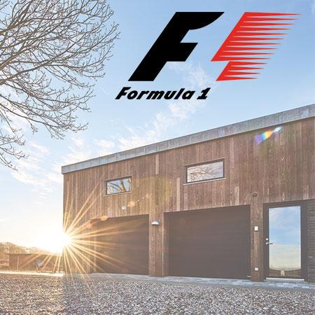 garageporte fra NASSAU - Formel 1