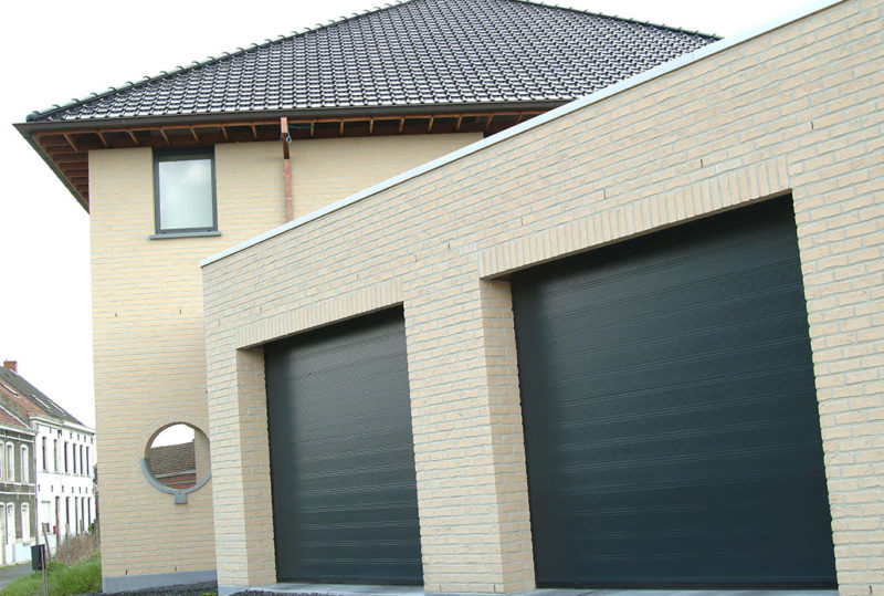 Antracitgrå softline granit nassau porte