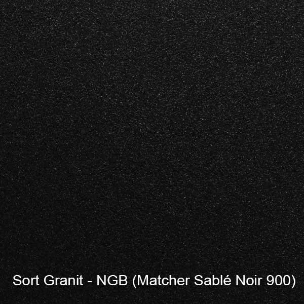 Sort Granit farveprøve