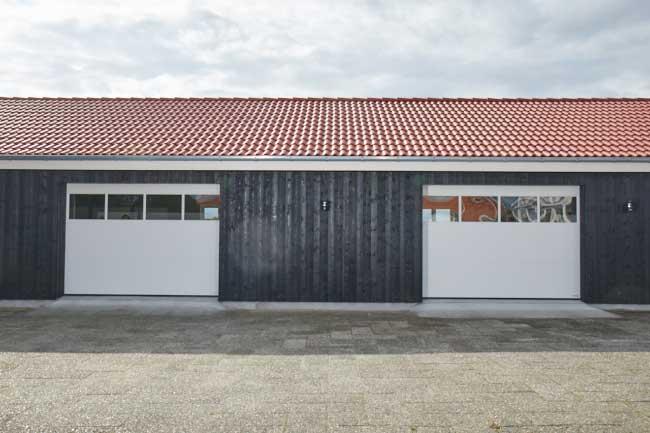Kiesa woodgrain garageport