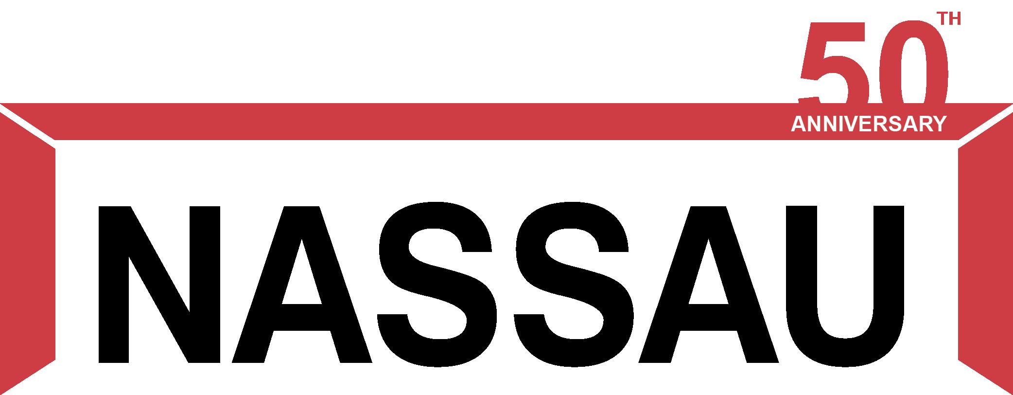 NASSAU logo 2020 - 50 års jubilæum