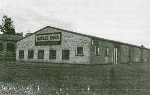 NASSAU's første fabrik i Ringe 1971
