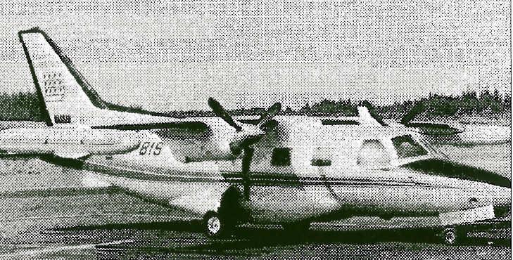 NASSAUs Mitsubishi Prop Jet fra 1973