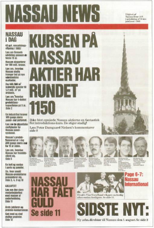 Nassau News fra 1985