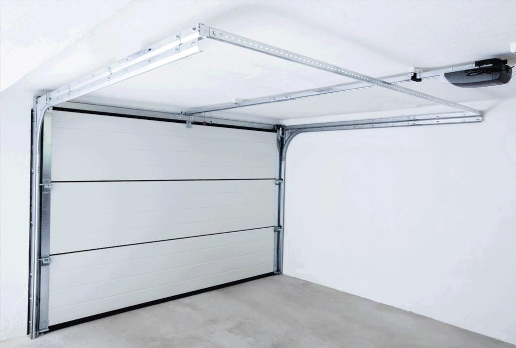 NASSAU garageport set indefra