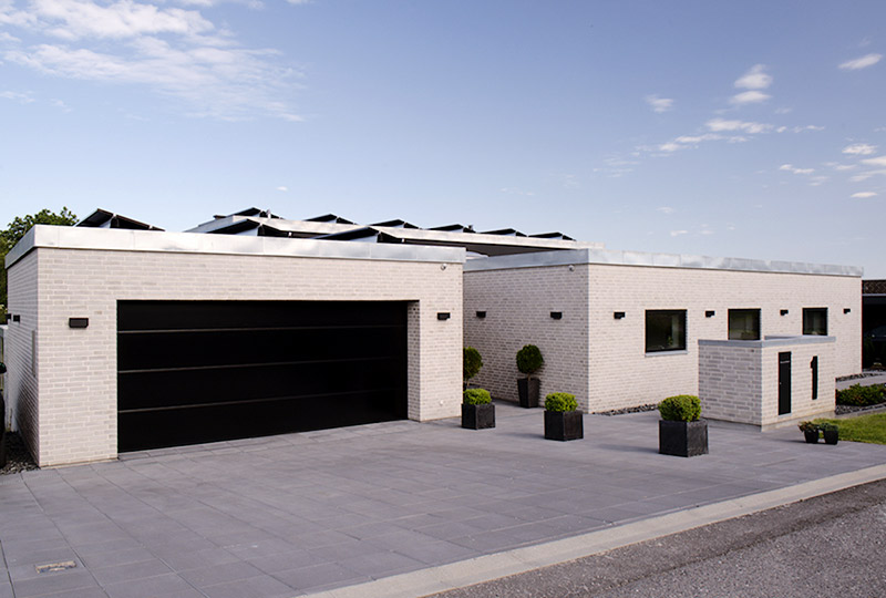 Bred NASSAU garageport KFS Boligbyg