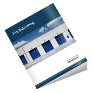 NASSAU Porthåndbog til industriporte - ledhejseport