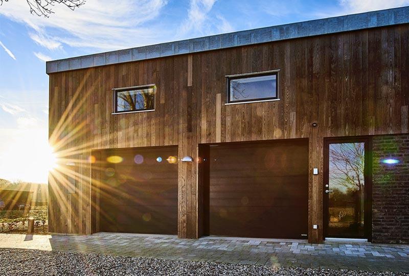 Softline Granit garageport i sort
