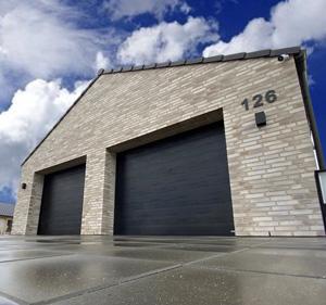 Dobbeltgarage dobbelt garageport